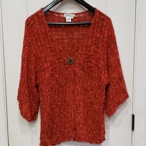 Coldwater Creek XL Knitted Blouse